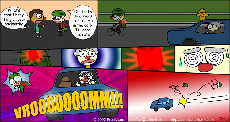 Bike safety comic